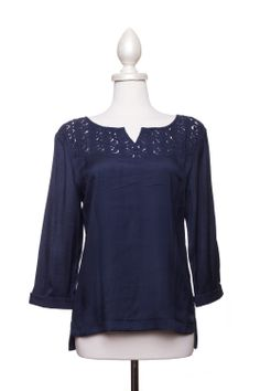 Dressing Your Truth - Type 2 Nighttime Navy Top