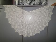Ravelry: Project Gallery for Paon pattern by Kerry Milani Knit Shawls, Wedding Shawl, Scarf Patterns, Milani, Lace Knitting, Shawls And Wraps, Knitting Projects, Ravelry, Projects To Try