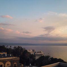 6:32 am, Sea of Galilee