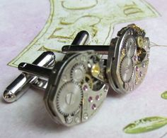 Beautiful Pair of 17 Jewels Steampunk by stevenssteampunk on Etsy