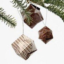 Christmas origami bombs