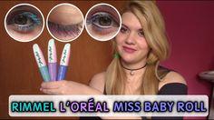 Pestañas colores? L'Oreal Miss Baby Roll: turquesa, lila, rosa... Españo...