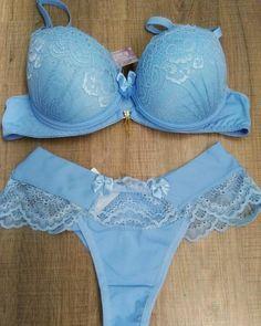Lingerie Azul, Sexy Lingerie, Blue Lingerie, Lingerie Outfits, Pretty Lingerie, Women Lingerie, Bra And Underwear Sets, Cute Underwear, Bra And Panty Sets