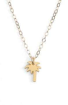 Palm Charm Necklace #palm http://rstyle.me/n/buqnzvn2bn