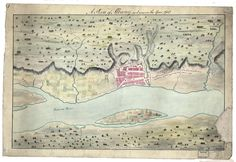 Map - A Plan of Albany as it was in the Year The American Revolution Comes to Albany, New York, Albany New York, American Revolutionary War, Revolutionaries, 18th Century, Vintage World Maps, Journal, History, Teaching Resources, Historia