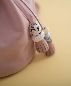Balloon Mini Malva Antique detail-leather Toys  #leather #bag #coldporcelain #handmade