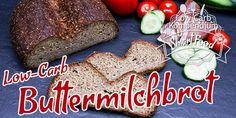 Low-Carb Buttermilchbrot 😍 ein fluffiges Brot mit knuspriger Kruste