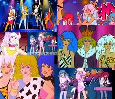 Collage! Jem and the Holograms and the Misfits:)