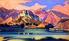 Lhasa   by NIKOLAI ROERICH