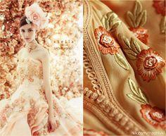 """""""Тот, кто совершает открытие, видит то, что видят все, и думает то, что никому не приходит в голову"""" А.Сент-Дьёрди  #pv_citaty #вышивка #вышивание #рукоделие #цитаты #подборки #красота #мода #женщина #бежевый #платье #цветы #открытие #нежность"""