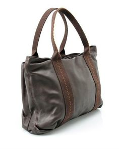 Hemes LU Genuine Leather Tote Bag- Made in France, 7/10 Condition