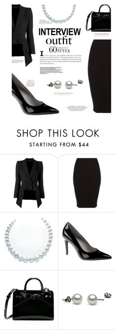 """Job of my dreams interview"" by chalsouv ❤ liked on Polyvore featuring Alexander McQueen, H&M, jobinterview and 60secondstyle"