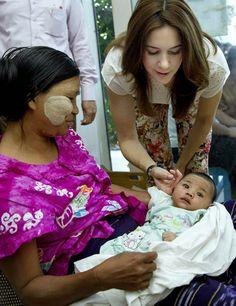 10 JANUARY 2014 Crown Princess Mary Visit Myanmar - Day 1 Crown Princess Mary is currently on a three-day-visit in Myanmar.