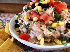 Skinny Southwest Dip – Daily Dose Of Pepper - About 85 calories and 1 WW Freestyle SmartPoint.