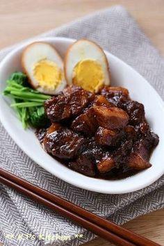 コトコト煮ます♪黒糖しょうが煮豚 レシピブログ