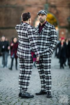 The Best Street Style From Pitti Uomo A/W 2016