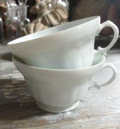 Pair of Vintage Limoges Cups