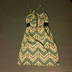 Billabong Summer Dress Like new, nice bright colors perfect for summer. Billabong Dresses Mini