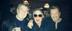 Dutronc, Hallyday et Mitchell, amis depuis 60 ans