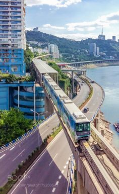 Bridges Architecture, Places To Travel, Places To Visit, Vertical City, Chongqing China, Trip Planning, Urban Planning, S Bahn, City Landscape