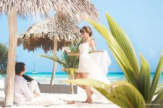 #puntacanaphotographer #destinationweddingphotographer #destinationwedding #photographer #weddingphotographer #caribbeanwedding #dominicanrepublic #puntacana #bride #trashthedress