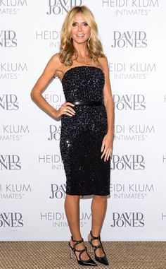 There's your plain-Jane LBD, and then there's this sparkling mini the supermodel wears for an appearance in Australia. Seriously, how does she always look so fabulous?