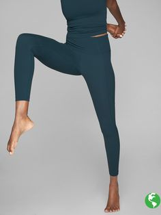 44ed947455814 High Rise Chaturanga Tights in size small and black | Christmas Wish ...