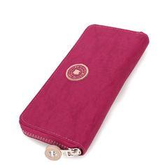 Waterproof Polyester Travel Wallets in Violet Color   #violet #violetwallet #travelwallets #fashion #polyester