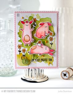 Sow Much Cuteness Stamp Set and Die-namics, Blueprints 20 Die-namics - Julia Stainton  #mftstamps