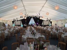 Bees Marquees corporate event