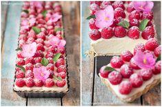 Koláč s malinami a mascarpone Raspberry, Strawberry, Food Styling, Sweet Treats, Sweets, Fruit, Blog, Cakes, Mascarpone