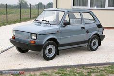 Fiat 126p Fiat 500, Small Cars, Old Cars, Cars And Motorcycles, Porsche, Car Stuff, Vehicles, Polish, Cars