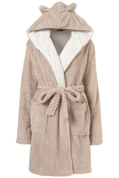 I could totally pull off a bathrobe with teddy bear ears #thisiswhat30lookslike