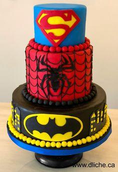 Cake Decorations Noosa : Superhero Boys Kids Birthday Cake, Noosa Sunshine Coast ...