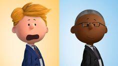 Build a Peanuts self-portrait with 'Peanutize Me'