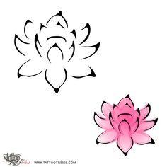 small lotus flower tattoo - Google Search
