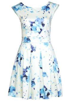 Sukienka letnia - water color