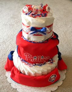 Philadelphia Phillies Baseball Cookies Baseball cookies