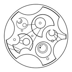 """""""All of time and space"""" in Gallifreyan"""
