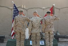 Marines honor those who sacrificed all by United States Marine Corps Official Page, via Flickr
