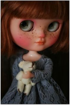 OOAK Custom Icy Doll by Carmen Rubio Julieta No Blythe Art Doll | eBay
