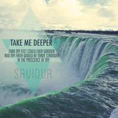 Oceans by Hillsong United | Niagara Falls, Canada, SERIOUSLY THIS IS MY LIFE SONG RIGHT NOW!!!!