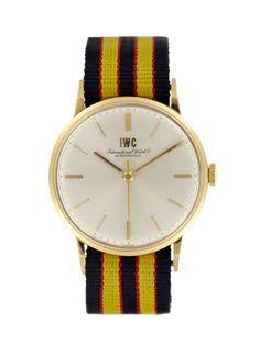 IWC 18k Yellow Gold Dress (c. 1960s), $4400