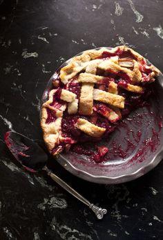 rhubarb pie .. my oh my!