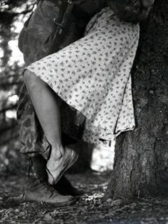 "Stanley Kubrick, ""Central Park, NY, 1946"", fotografia de Stanley Kubrick"