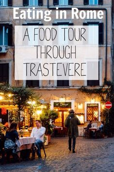 A Rome Food Tour Through Trastevere - An American in Rome European Vacation, Italy Vacation, European Travel, Italy Trip, Italy Travel Tips, Rome Travel, Cinque Terre, Mykonos, Santorini