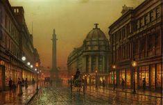 Louis H. Grimshaw - Grainger Street, Newcastle upon Tyne 1902
