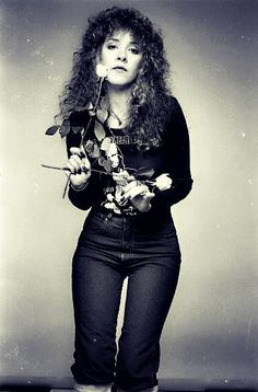 Stevie Nicks wearing Tom Petty tee