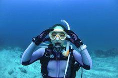 Scuba Girl, Respirator Mask, Womens Wetsuit, Under The Sea, Diving, Asian, Women, Learn To Scuba Dive, Scuba Diving