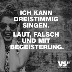 motivational quote I das Leben ist schön I Singen I visual quote Great Quotes, Me Quotes, Motivational Quotes, Funny Quotes, Funny Memes, Jokes, Inspirational Quotes, Take A Smile, Word Pictures